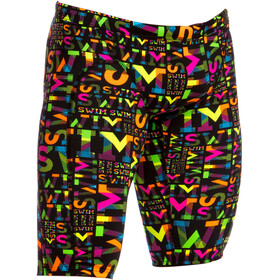 Funky Trunks Training Jammers Bathing Trunk Children black/colourful